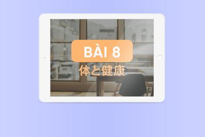 [Kanji] Bài 8
