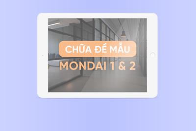 [Kanji N4] Chữa đề mẫu Mondai 1 và Mondai 2